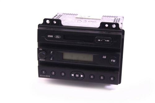 Ford Autoradio MC Radio 2500 Fiesta 5 6 Fusion Kassette 2S61-18K876-AG//AE KFZ