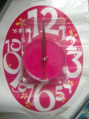 100% Wahr Wandsticker Uhr Für Mädchen Neu In Ovp Batterie Betrieben Gesundheit FöRdern Und Krankheiten Heilen
