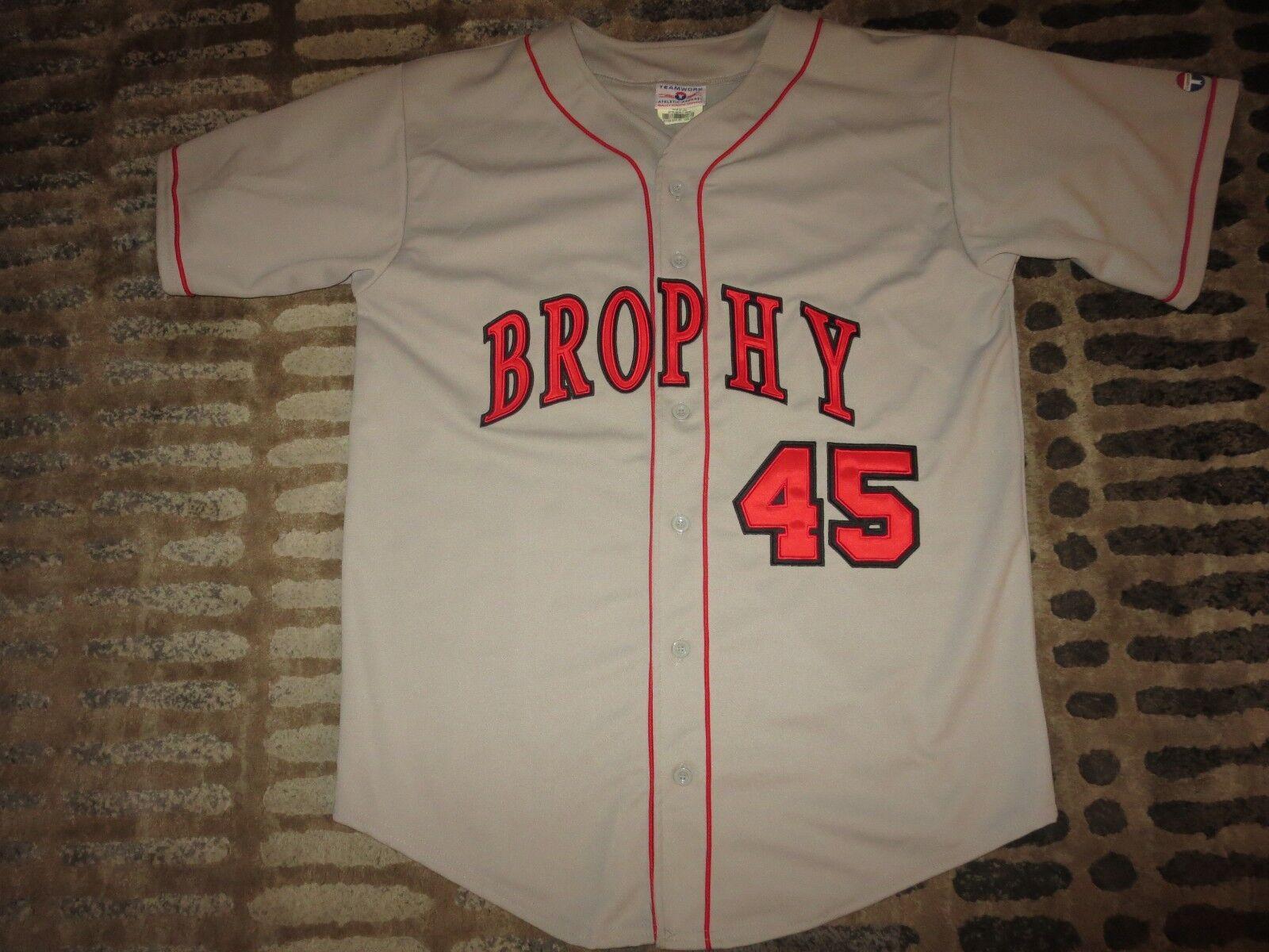 Brophy College Prep Broncos High School baseball team game worn jersey XL 48