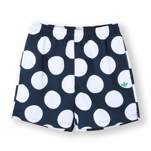 new arrival ddf12 b1e1a Adidas Originals Men's Stan Smith Polka Dots Shorts Size 2XL FREE SHIPPIN  AB9491