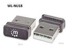Nano 150N Wireless Network USB Adapter Dongle - Intellinet 525336
