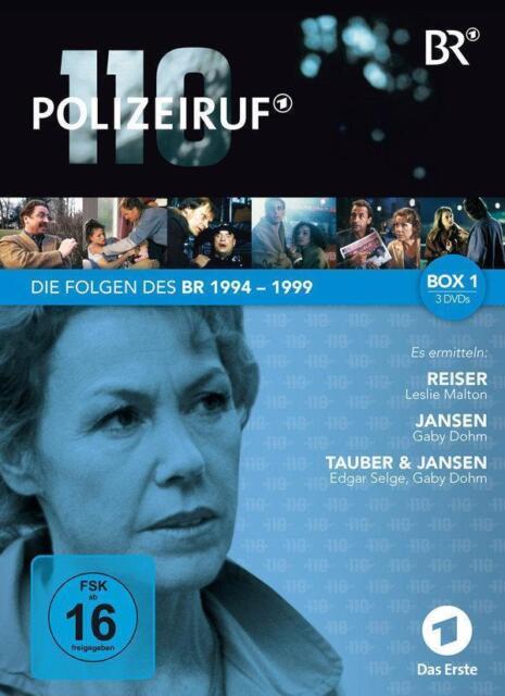 Polizeiruf 110 - 6 Folgen aus den Jahren 1994-1999 - NEU in Folie - 1670