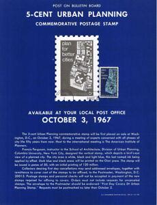1333-5c-Urban-Planning-Stamp-Poster-Unofficial-Souvenir-Page-Flat-HC