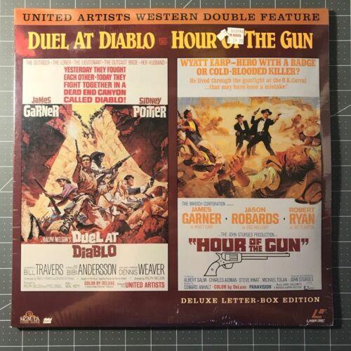 DUEL AT DIABLO / HOUR OF THE GUN LASERDISC - BRAND NEW LD