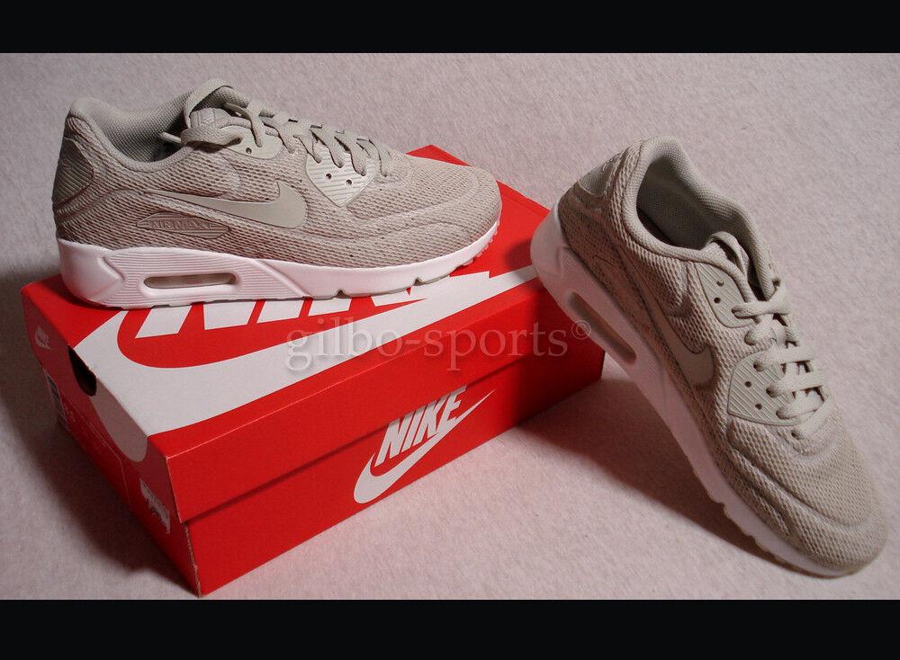 Nike Air Max 90 Ultra 2.0 BR Pale Grey Beige Gr. 42 43 44 44,5 Neu 898010 002