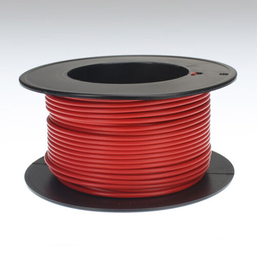 Kabel 1,0 qmm rot 25m Litze Leitung Fahrzeug Auto