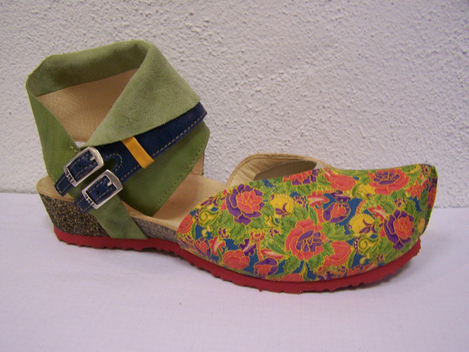 Think Kessy, Kessy, Kessy, in Blumenprint, fällt größer aus, leichtes Fußbett + Baumwollbeutel 5f4d5d