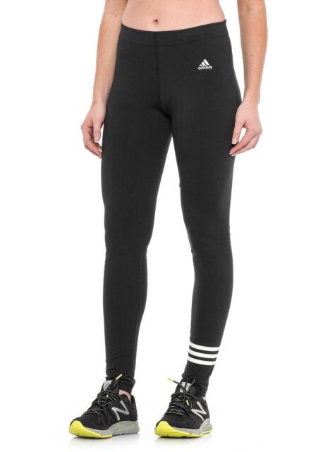 83b3c9245a5e4 adidas Originals Womens 3 Stripes Legging Black/white Aa0739 Size ...