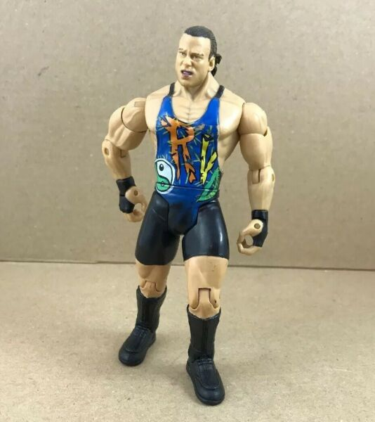 "Jakks Pacific Wwe Ruthless Agression Rob Van Dam Loose Action Figure 6"" Tall"