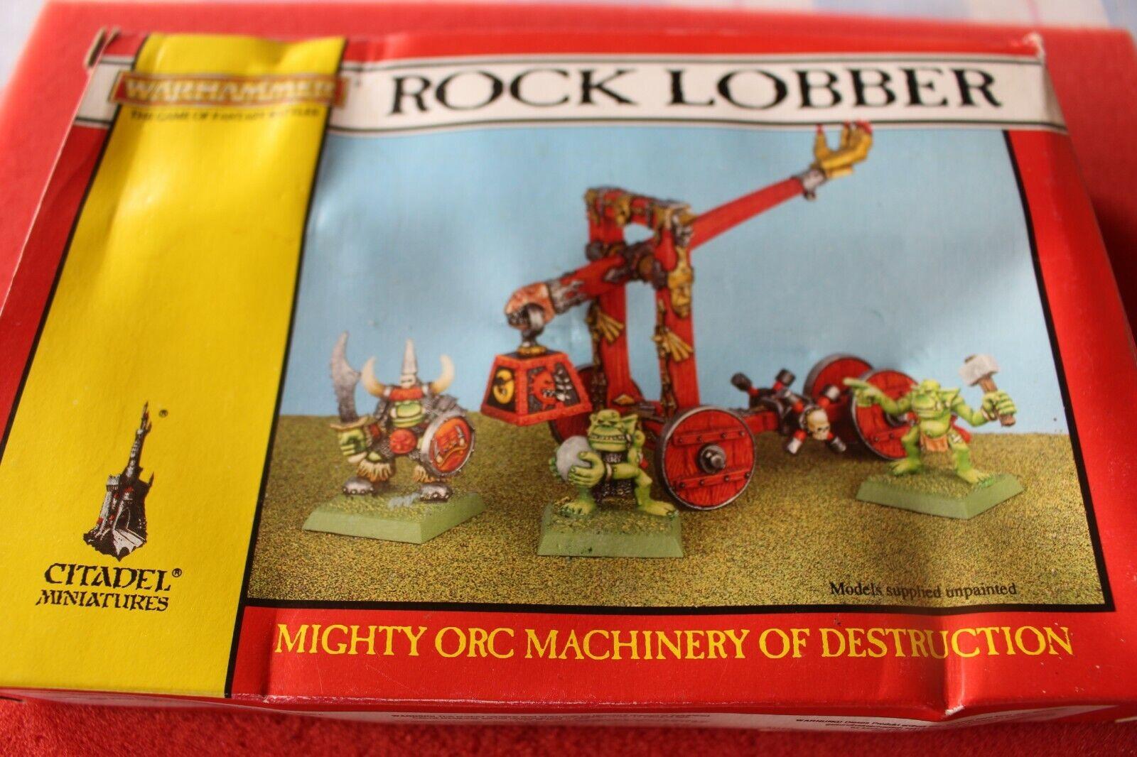 Games Workshop Warhammer Orcs and Goblins Rock Lobber Orc NIB Metal OOP New