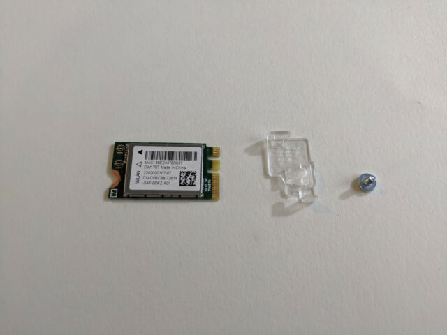 Dell Inspiron 3650 Desktop Wireless DW 1707 Card Part Number VRC88 3000  Series