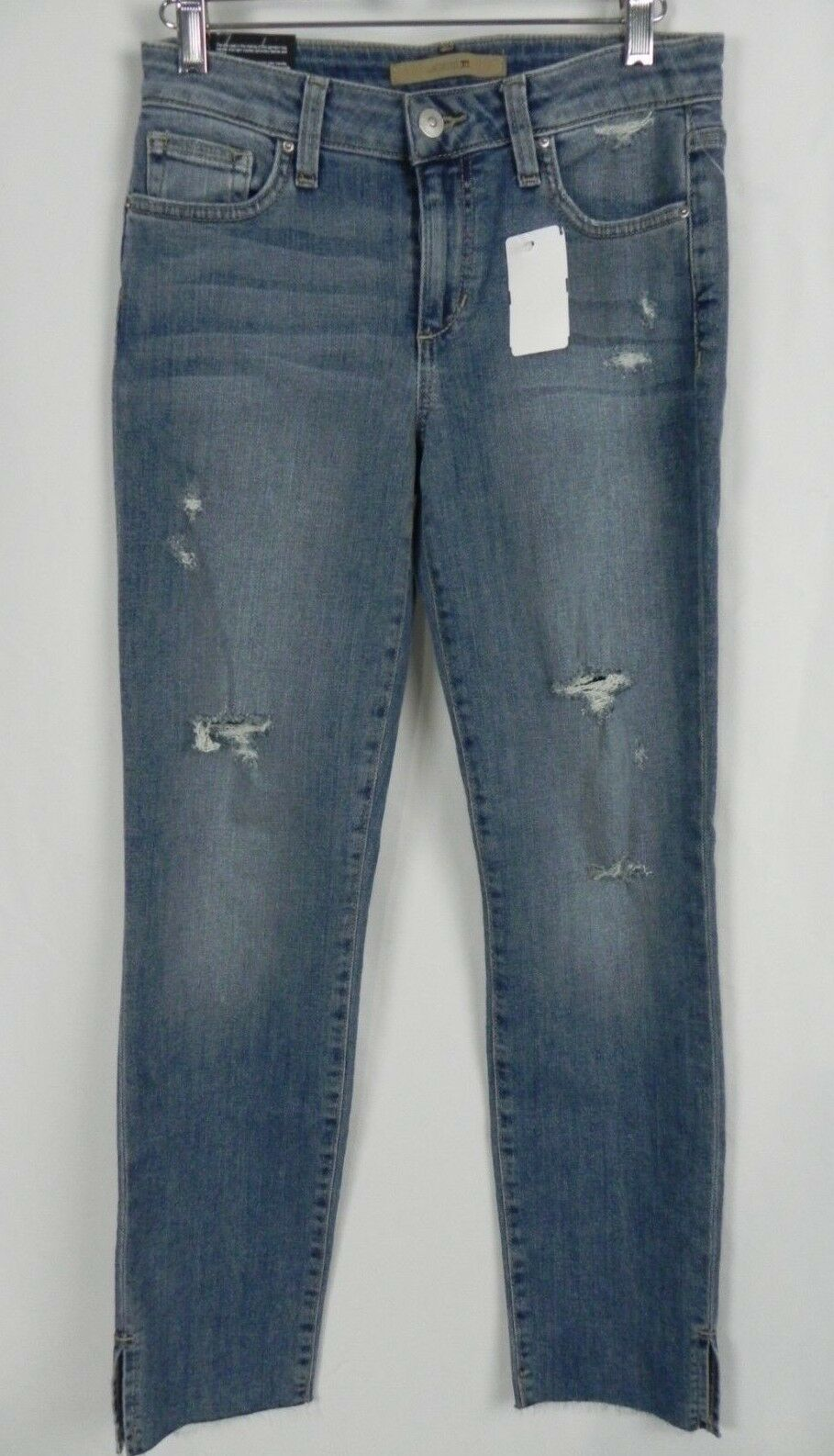 NEW Joe's Straight Ankle Medium Wash The Charlie Kandie Jeans Size 25  (O1-14)