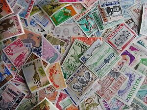 Scrap pile of 110 LIBERIA Duplicates,mixed condition,what lurks?