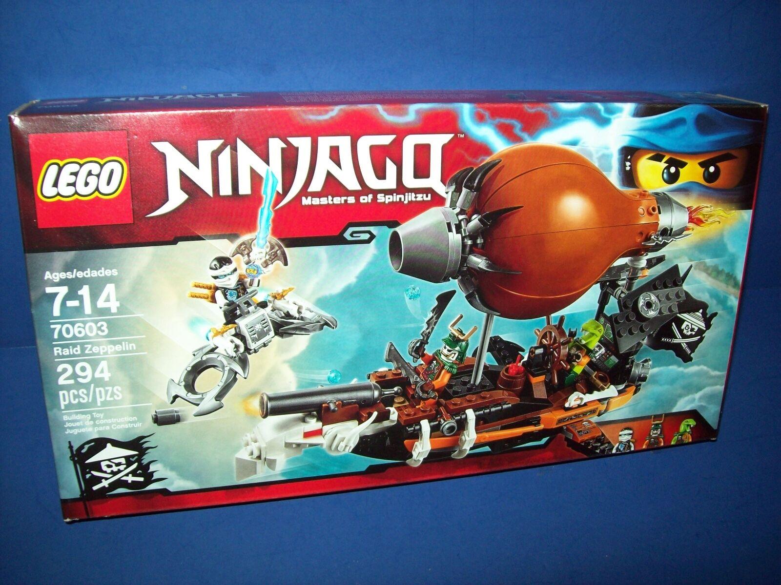 Lego NINJAGO 70603  Masters of Spinjitsu - RAID ZEPPELIN 294 pcs sealed