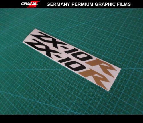 2 Pics ZX10R VINYL Decals /_200 mm x 17 mm