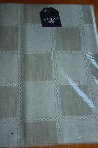 Details about flex lithuanian 54%cotton/46%linen tablecloth (147x150cm)