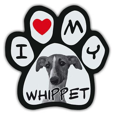 I LOVE MY PRESA CANARIO Dog Bone Shaped Car Magnets