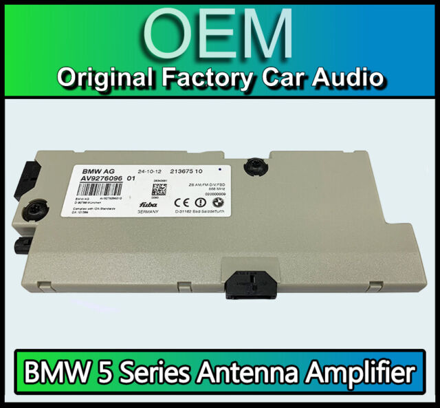 BMW 6 Series Gran Coupe Antenna Aerial Amplifier, BMW F06 9276096 213675