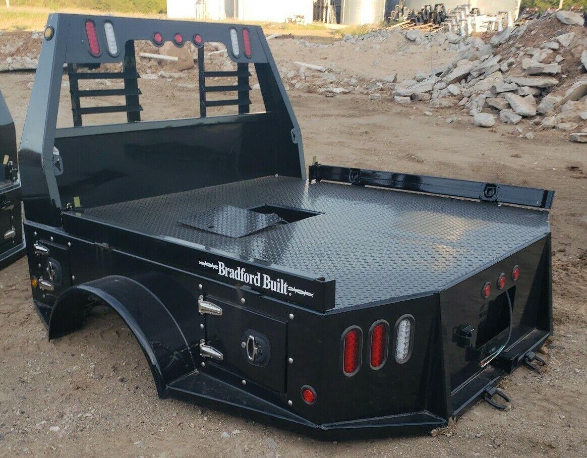 Flatbed Truck Body Bed Dodge Mega Cab Dually Bradford Built Ebay