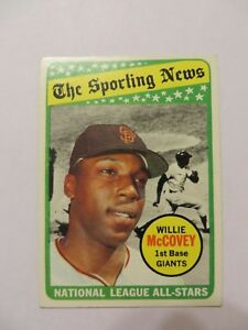 1969-TOPPS-WILLIE-McCOVEY-SPORTING-NEWS-ALL-STAR-CARD-416