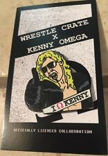 """WrestleCrate Exclusive """"The Cleaner"""" Kenny Omega Lapel Pin, Bullet Club, NJPW"""