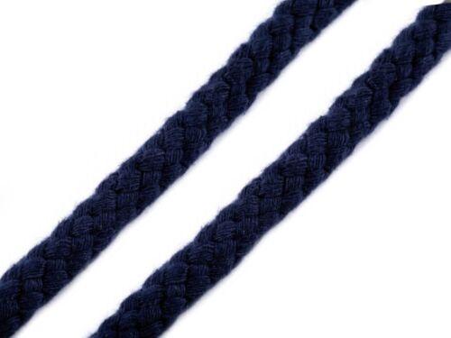 1m//1,30€ Baumwolle Seil Flechtschnur 1603 3m Kordel Ø10mm Docht