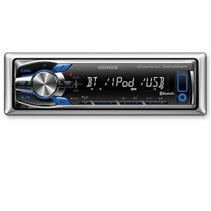 KENWOOD-Marine-Radio-Bluetooth-iPod-iPhone-4-5-USB-MP3-Reveiver-Boot-Yacht-Boat