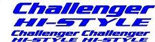 3 x CHALLENGER HI-STYLE  SWIFT CARAVAN/MOTORHOME  DECALS STICKERS FAST POSTAGE