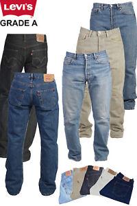 Vintage-Levi-Levis-501-Jeans-Denim-de-grado-A-para-hombre-W28-W30-W32-W34-W36-W38-W40