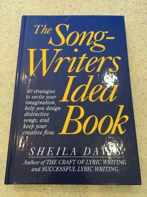 Songwriters Idea Book By Sheila Davis 1992 Spiral Ebay