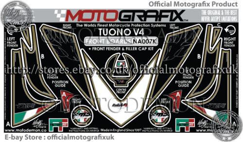 Aprilia Tuono V4 2011-2014 Front Fairing Number Board Motografix Gel Protector