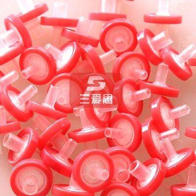 NEW 10pcs NYLON Syringe Filters 25mm 0.45μm non-sterilized