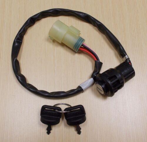 New 1995-2003 Honda TRX 400 TRX400 Foreman ATV OE Ignition Switch With Keys
