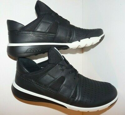 ECCO Intrinsic 2 Hohe Sneaker Gr. 40 Schwarz Leder Schuhe Halbschuhe Damen NEU | eBay