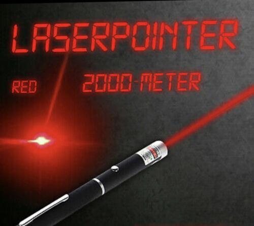 24 Stunden Speedversand Laserpointer Rot 2000 Meter Reichweite Sehr Stark