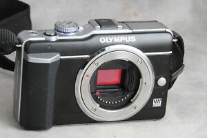 Olympus-Pen-E-PL1-Micro-4-3-Body-Low-Count-Works-Great