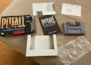 SNES Super Nintendo Pitfall: The Mayan Adventure...Complete