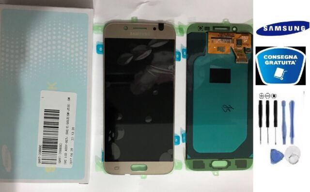 PANTALLA LCD + TOQUE ORIGINAL SAMSUNG GALAXY J5 2017 SM-J530F GOLD + KIT
