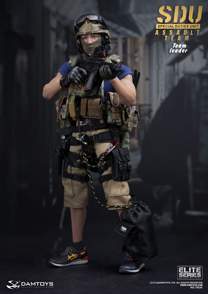DAM Toys Elite Series SDU(Special Duties Unit) ASSAULT TEAM - LEADER 1 6 Figure