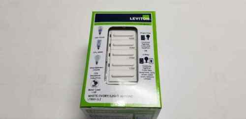 Leviton LTB60-1LZ 20A 1HP Preset 10-20-30-60 minutes Countdown Timer Switch