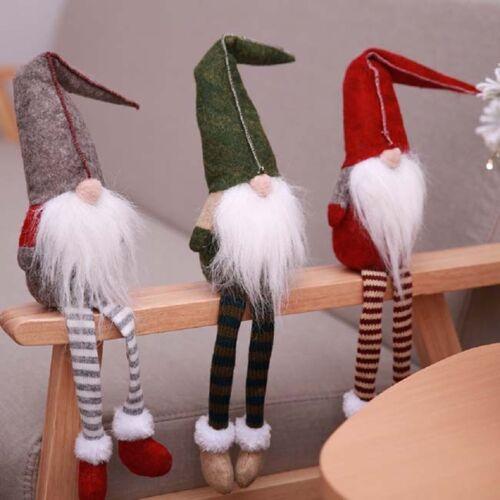 Swedish Santa Gnome Plush Scandinavian Tomte Nordic Nisse Sockerbit Elf Decor RU