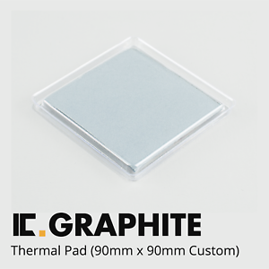 Alternative To Paste IC Graphite Thermal Pad 90x90mm