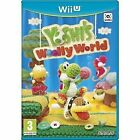 Yoshi's Woolly World Nintendo Wii U 2015 Cute Yarn Game PAL