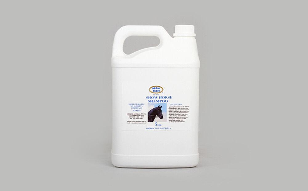 negozio online outlet Neem Show Horse Shampoo 5 5 5 Litres  elementi di novità