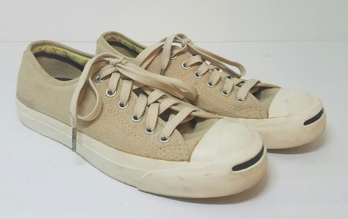 Converse Jack Purcell Canvas Sneakers Size 5.5 Medium Unisex