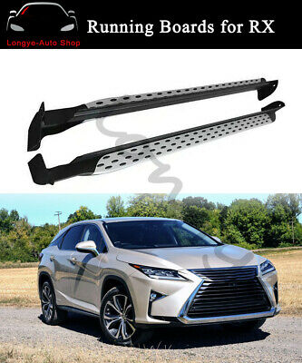 US For LEXUS RX 350L RX450hL 2017-2019 Running Board Side Step Bar Nerf Bars