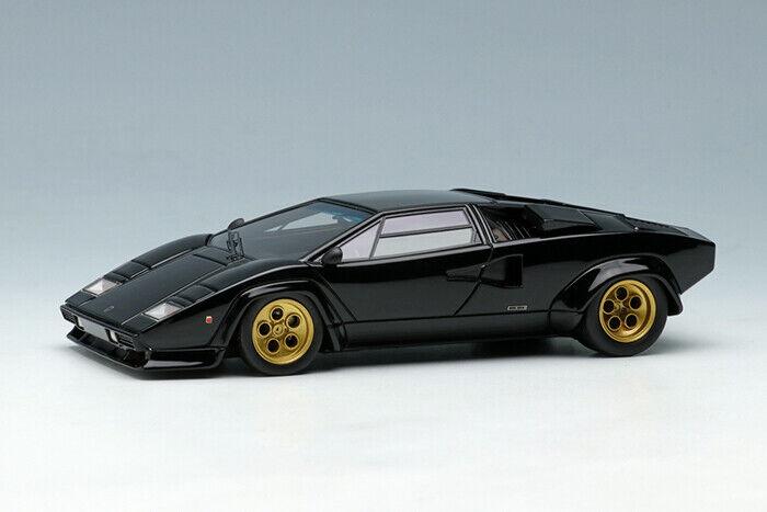 ahorra hasta un 50% Maquillaje Eidolon EM407C EM407C EM407C 1 43 Lamborghini Countach LP400S 1978 Negro  aquí tiene la última