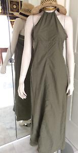DIESEL-Kleid-300-Euro-gruen-Designer-Haute-Couture-billig-sale-wow-L-italy