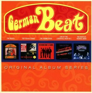 VARIOUS-GERMAN-BEAT-ORIGINAL-ALBUM-SERIES-5-CD-NEU