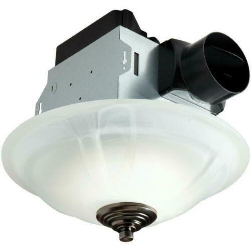 Ceiling Exhaust Fan 80 Cfm W Led Light, Menards Bathroom Light Fan